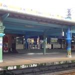 八堵車站應該是剛粉刷過,充滿濃濃的油漆味。