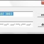 摩尔斯电码转换工具