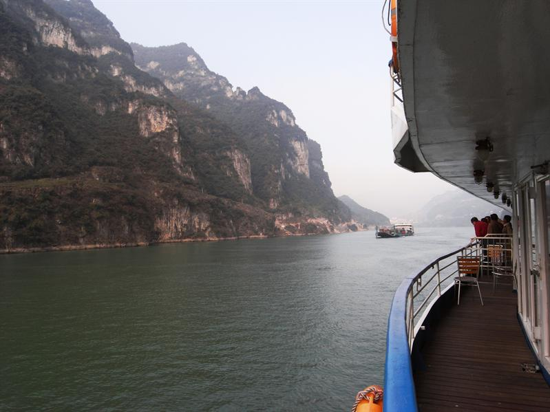 last day of cruising the yangtze