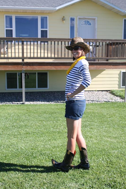 Feeling like a cowgirl in Montana