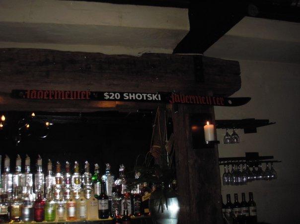 Jagermeister shots