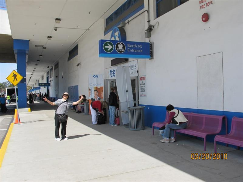Pier #93 of San Pedro