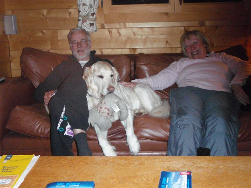 Ruth, Dick and Molly (not forgetting reindeer)
