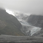 Franz Josef - shocking day weather - my heli-hike got cancelled twice :(