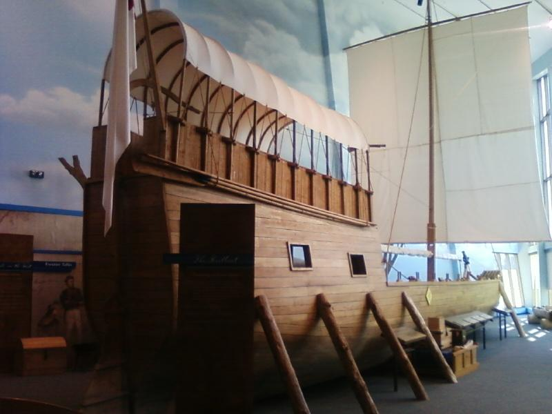The ship of Lewis and Clark replica
