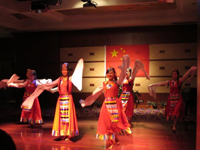 Ancient Chinese fashion show