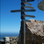 On top of Cape Point / en haut de la pointe du cap