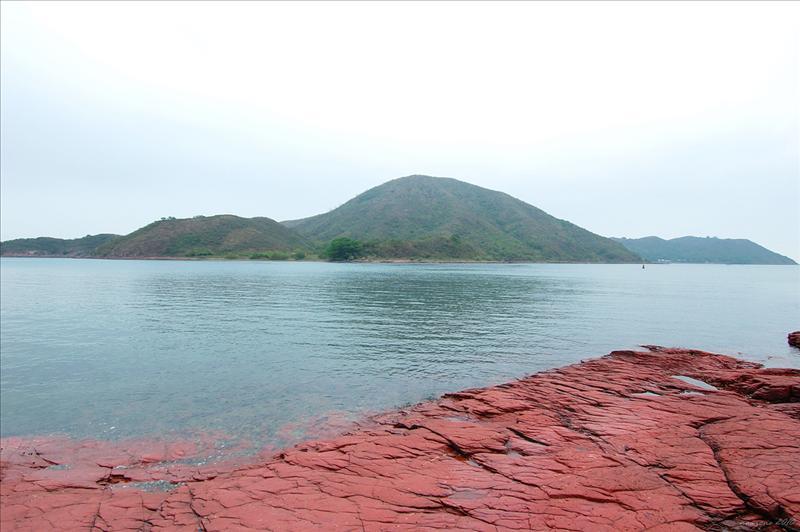 對岸的往灣洲 Double Island (Wong Wan Chau)