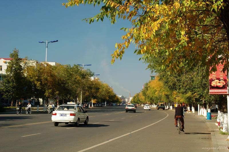 Street of Hailar 海拉爾街道