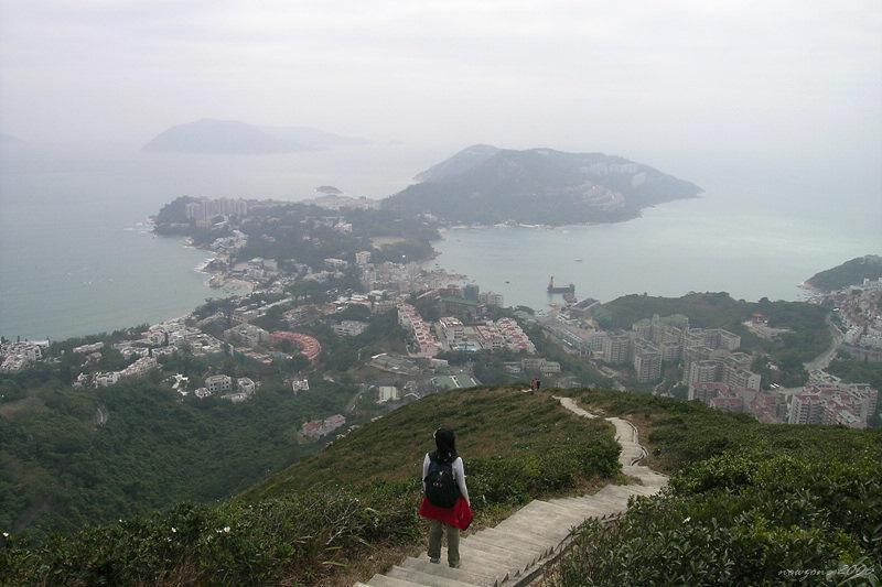 Stanley Peninsula下望赤柱半島全景