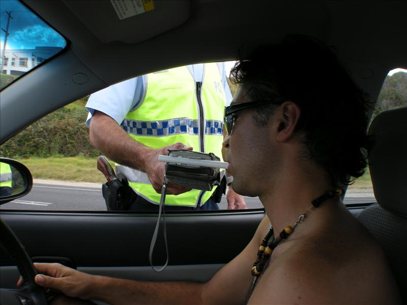 Road block for Australia day