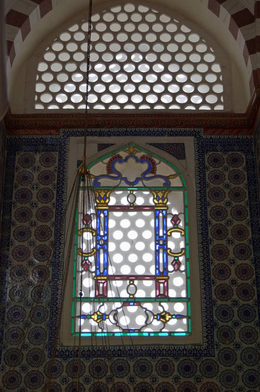 intricate window