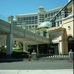 Bellagio from the cab! Getting excited!