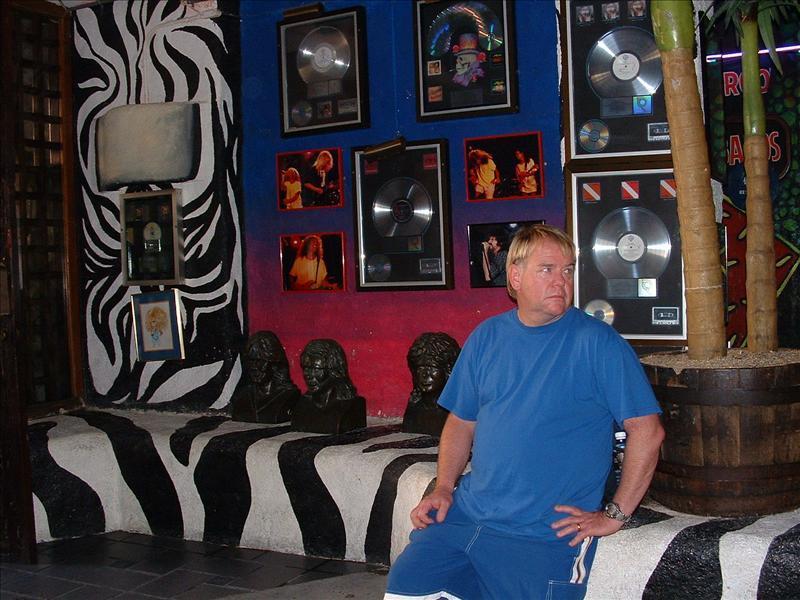 Mark, Cabo Wabo, Cabo San Lucas,MX