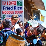 Hmong selling souvenirs to tourist