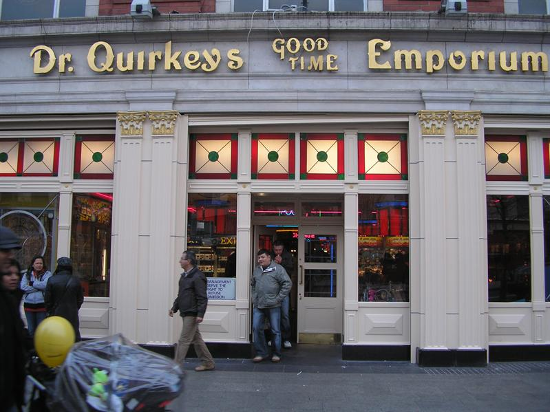 Quirkeys Good TIme Emporium 'We have to go there'