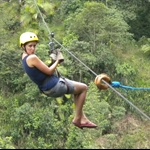 Few days in the Cloud Forest - ziplining, tubing and butterflies!!!