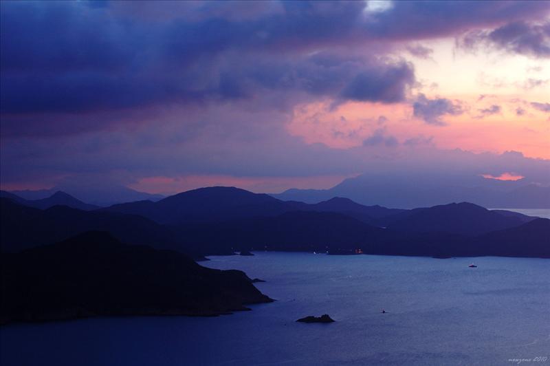 吊鐘洲及糧船灣海 Jin Island and Rocky Habour
