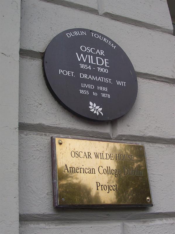 Oscar Wilde house.