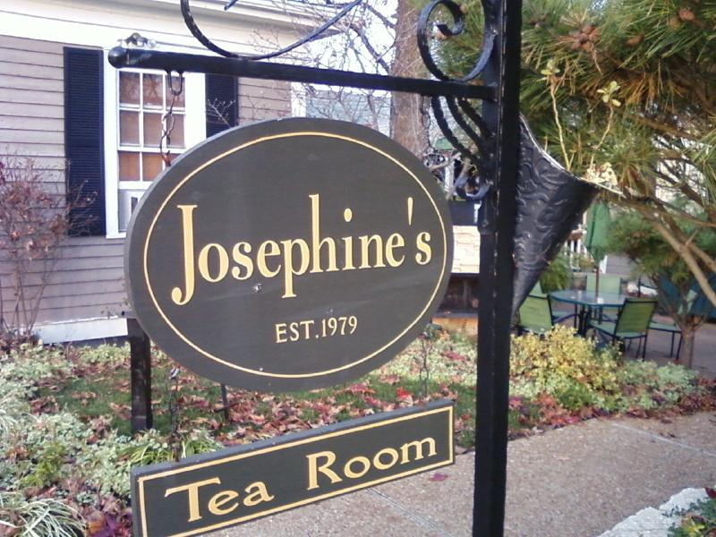 the Tea Room is connected to Josephines
