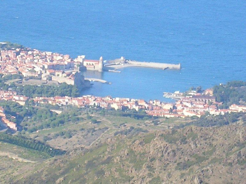 .. we looked back to Collioure.