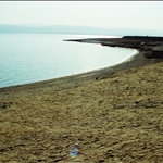 dead sea 422 metres (1,385 ft) below sea level  the lowest elevation on the Earth