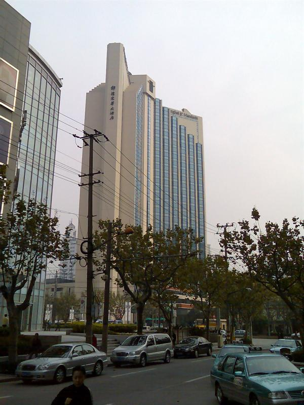 从西康路上拍的J C Mandarin酒店