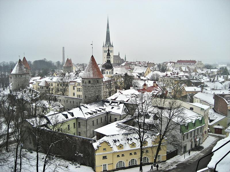 Tallinn in Snow