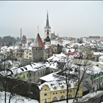 Tallinn in Snow