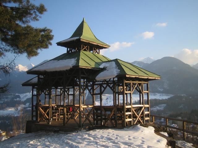 la Pagoda di Cavalese