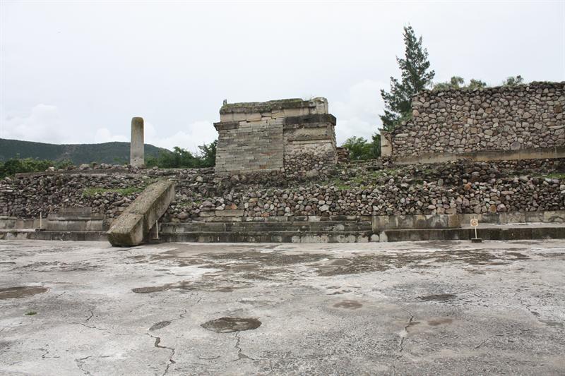 Mitla ruins...