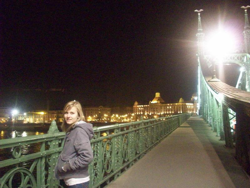 Only one of the bridges that seperates the BUDA side from the PEST side