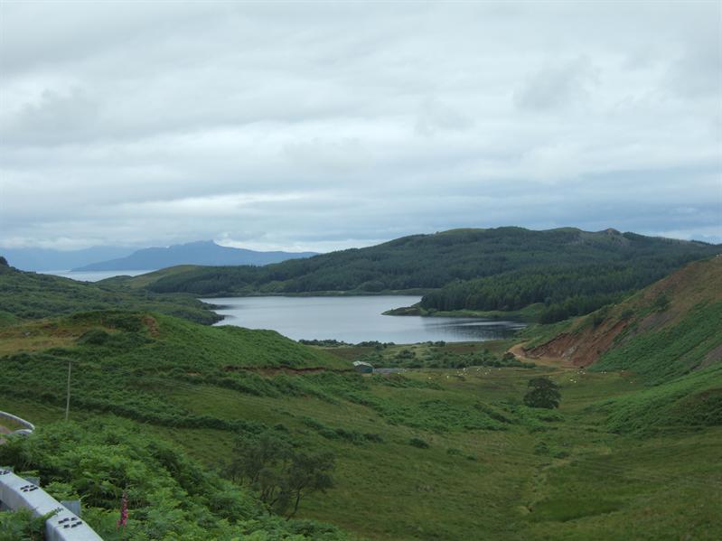 Nearing Ardnamurchan Point