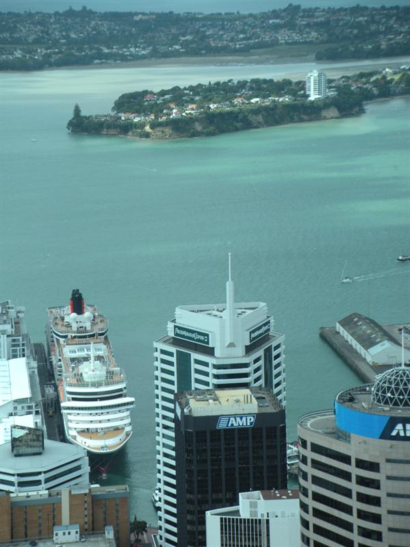 The Queen Victoria from the Sky Tower