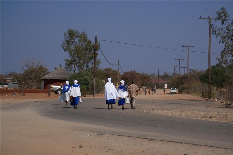 Mathathane Village (Botswana)