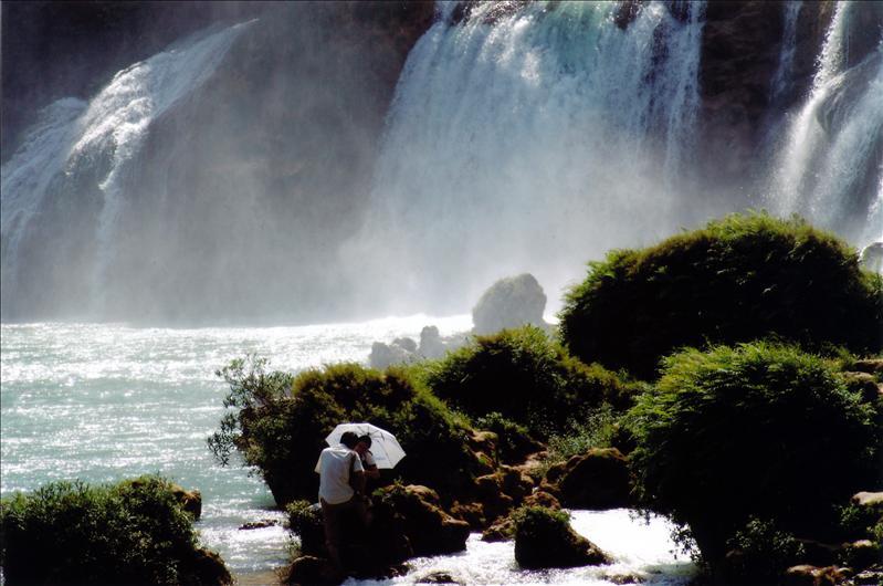 detian waterfall德天大瀑布