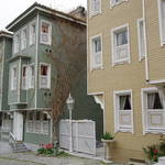 Ottoman-style wooden houses