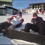 Schifahren Semester 09