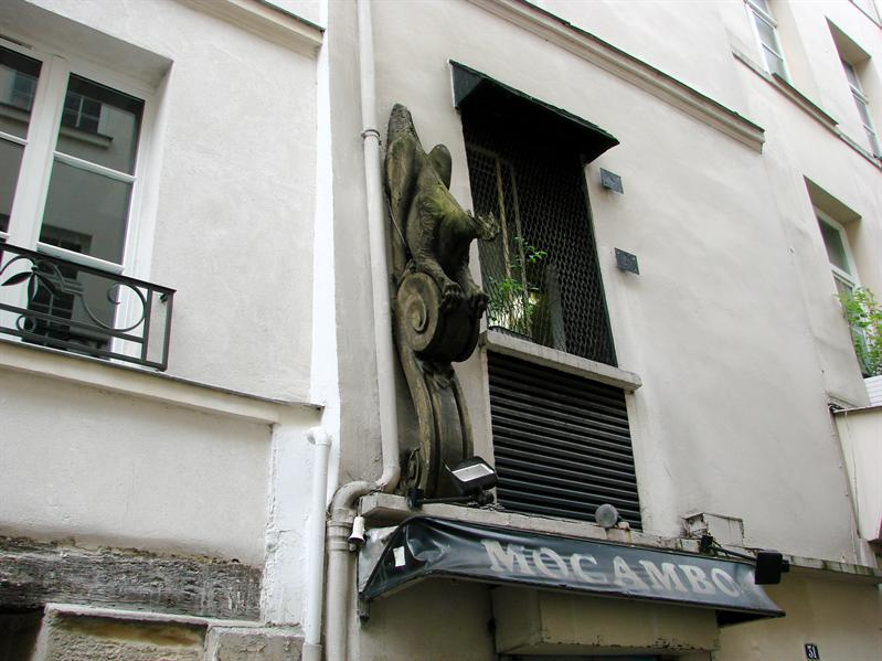 Cool sculpture on Rue de L'abbaye