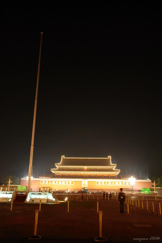 The Tiananmen Square天安門