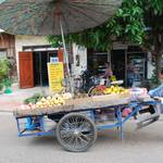 Street vendor...