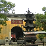 东林寺(DongLin Temple) & 九江(JiuJiang), 江西(JiangXi), China, Sep 2006