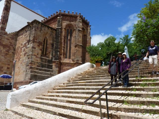 @ the castle in Silves