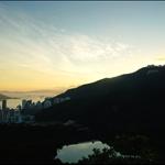 班納山山頂望下香港仔水塘
