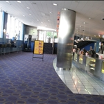 Modern inside the Cinerama