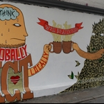 Political mural