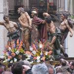 ... showing Holy Week scenes...