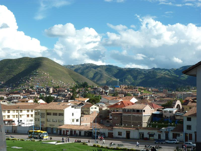 View of Cusco...