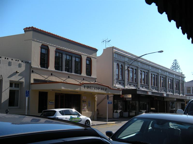 Art Deco Building in Napier