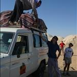 Egypte - 1aug2009 - Terug na woestijnovernachting